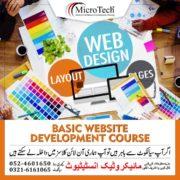 Basic Website Development Course in Sialkot