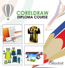 01 Coreldraw Designing Short Diploma Computer Course in Sialkot
