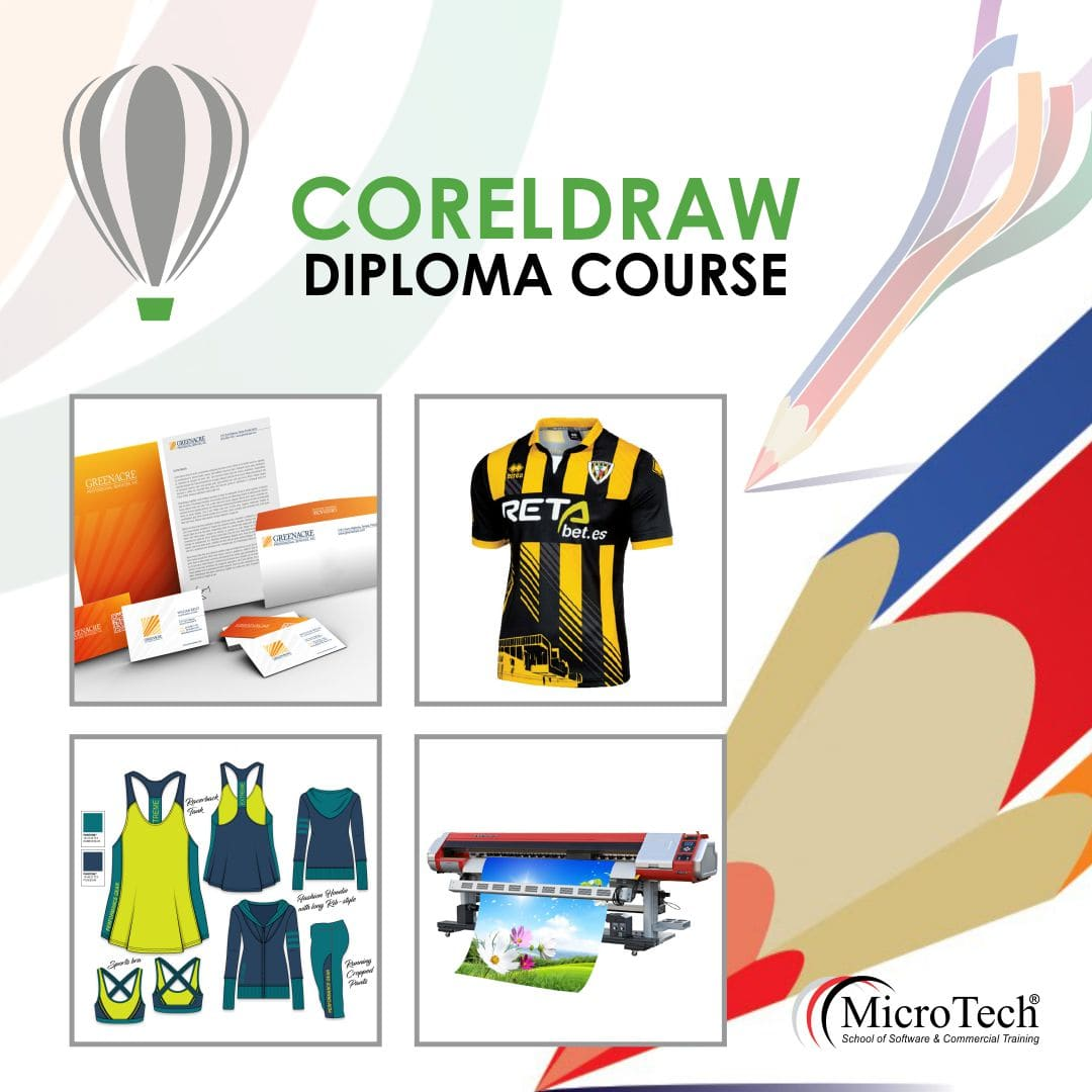Graphic Designing CorelDRAW Diploma Short Course in Sialkot - Micro Tech  Institute Sialkot
