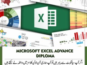MICROSOFT EXCEL ADVANCE for ACCA & Finance Bodies Students Computer Short Course Diploma in Sialkot