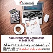 Online Peachtree Accounting Software by Sage Class